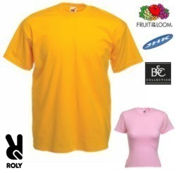 Camiseta bordada Fruit of the Loom