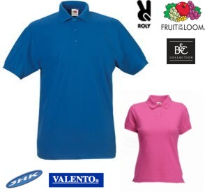 Polo bordado Fruit of the Loom